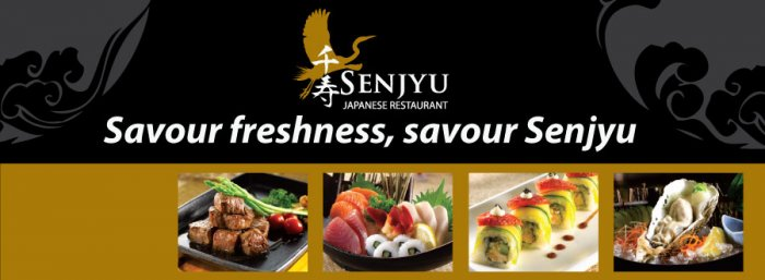 RM70 Cash Voucher for Food + RM20 Reward Card @ Senjyu for only RM35