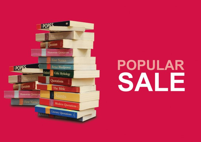Popular Bookstore Sale 20 Off For Members 10 For Non Members