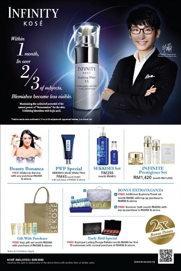KOSÉ Beauty Bonanza InStore Promotion @ PARKSON Sunway Pyramid