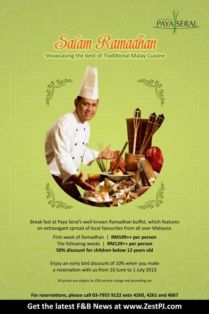 Ramadhan Buffet at Hilton Hotel Petaling Jaya