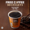 Free Coffee Mondays at McDonald's