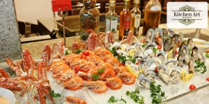 All You Can Eat Bbq Seafood Dinner Buffet At Kitchen Art Brasserie