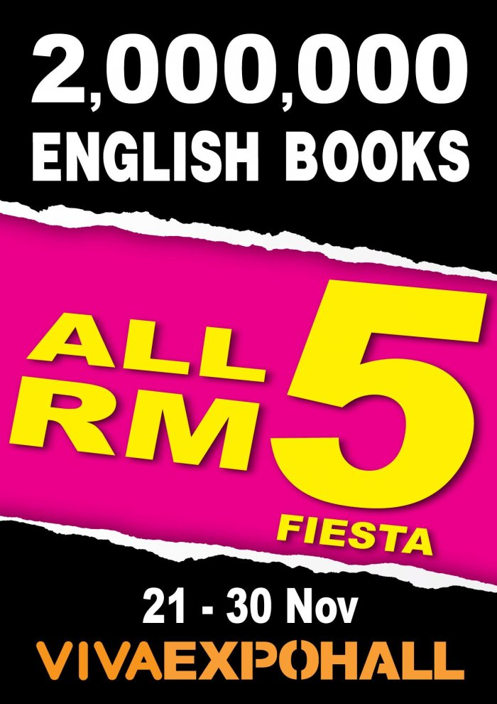 Popular Bookstore Rm5 Books Fiesta 2 Million English Books For