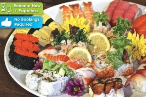 Iku japanese fusion sushi rm28 for rm50 cash voucher for for 50 fifty asian fusion cuisine