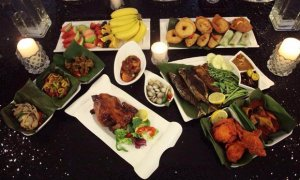 ramadhan buffet dinner at jardin villa in petaling jaya
