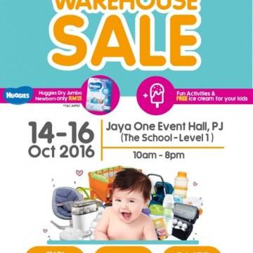 Baby Warehouse Sales - Oct-2016