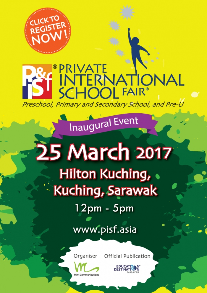 Private & International School Fair in Kuching, Sarawak