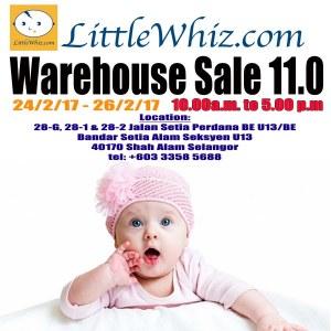 LittleWhiz Warehouse Sale 11.0
