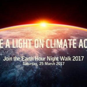 Earth Hour 2017 Night Walk