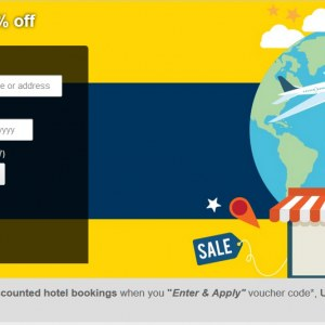 Extra 10% OFF Expedia Discounted Hotels Booking with UOB Cards