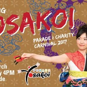 Penang Yosakoi Parade 2017