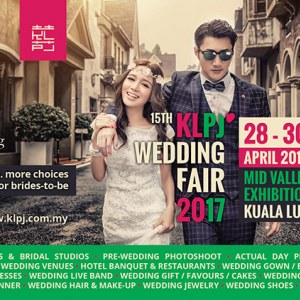 15th KLPJ Wedding Fair 2017 (April 2017) Mid Valley Exhibition Centre