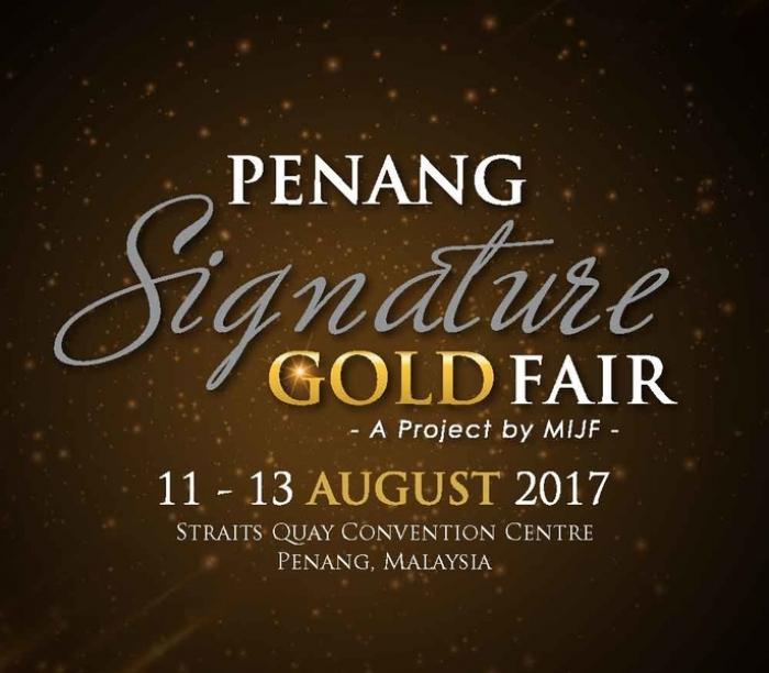 Penang Signature Gold Fair (PSG) 2017