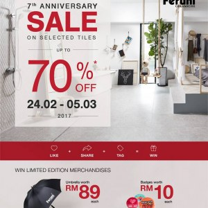 Feruni 7th Anniversary Sale - Up To 70% OFF