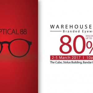 Optical 88 Branded Frame & Sunglasses Warehouse Sales