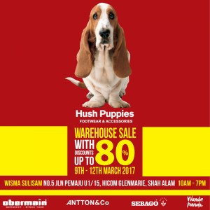 Hush Puppies Warehouse Sale - Up To 80% OFF