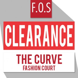 F.O.S Clearance Sale - 60% Off Everything