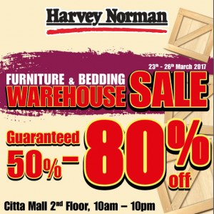 Harvey Norman Furniture & Bedding Warehouse Sale