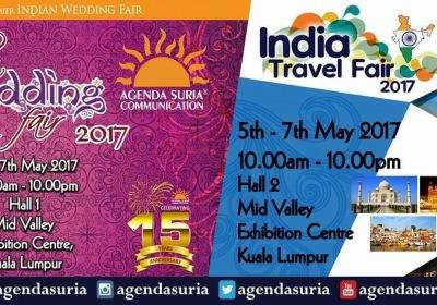 Indian Wedding Fair 2017 + India Travel Fair 2017