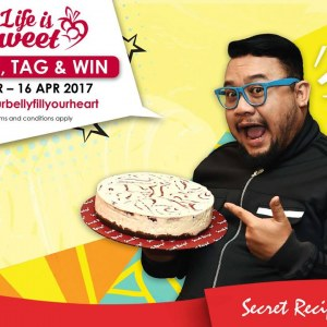 Secret Recipe Meet and Dine-in Together with Afdlin Shauki