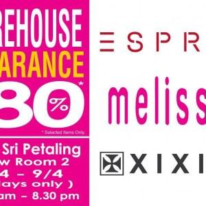 Branded Warehouse Warehouse Sale - Esprit Melissa XIXILI