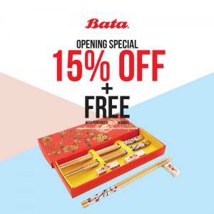 Bata Store 1 Utama Re-opening Special
