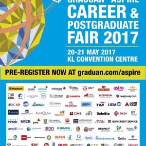 Graduan Aspire Career & Postgraduate Fair 2017