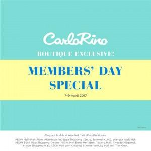 Carlo Rino Boutique Exclusive Member