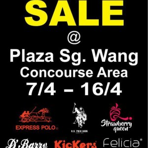 Branded Sale @ Sungei Wang Plaza - Up To 80% OFF