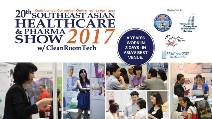 20th SEA Healthcare and Pharma Show 2017