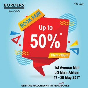 Borders Book Fair - Discounts Up To 50%