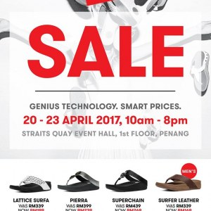 FitFlop Sale @ Straits Quay Penang