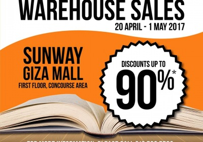 Times Bookstores Warehouse Sale - Discounts Up To 90%