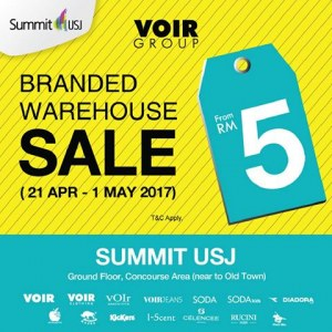 VOIR Group Branded Warehouse Sale - From RM5
