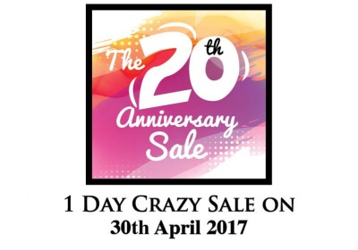 Mac City 20th Anniversary Online Store One Day Crazy Sale