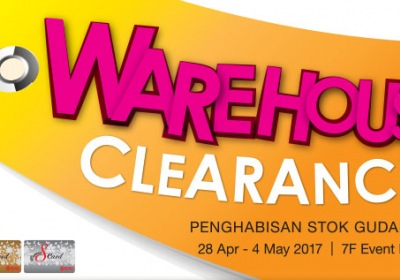 KL Sogo Labour Day Warehouse Clearance Sale