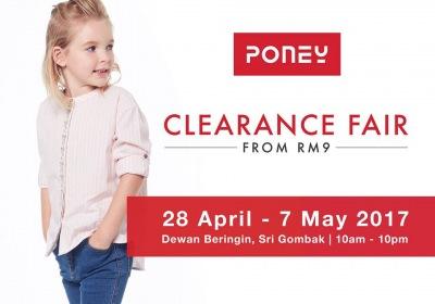 Poney Clearance Fair - Sale From RM9 (Sri Gombak)