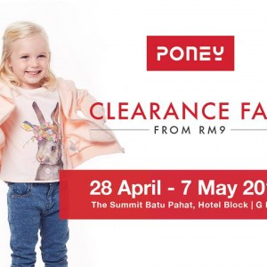 Poney Clearance Fair - Sale From RM9 (Batu Pahat)