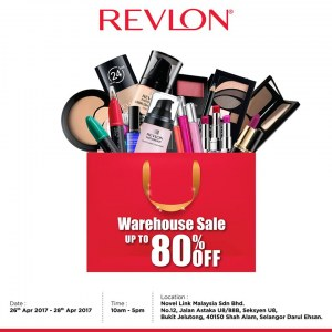 Revlon Warehouse Sale - Up To 80% OFF