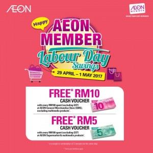 AEON Member Labour Day Savings