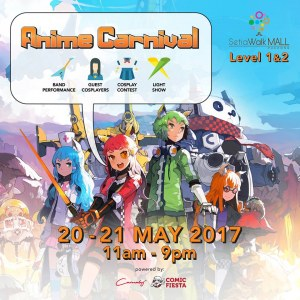 Anime Carnival by Comic Fiesta