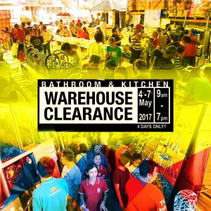 Tora Bath & Kitchen Warehouse Clearance Up To 90% OFF