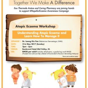 CARiNG Pharmacy & Eau Thermale Avene - Atopic Eczema Workshop