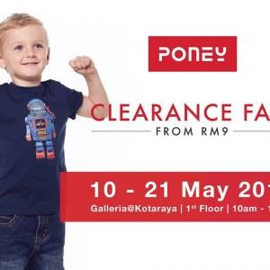 Poney Clearance Fair - Sale From RM9 (Johor Bahru)