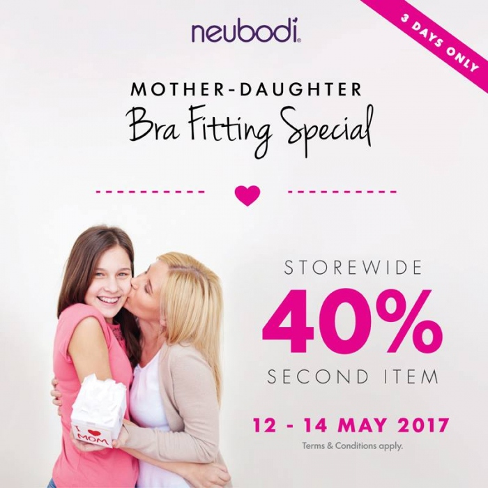 Neubodi Mother's Day Special - 40% OFF Second Item
