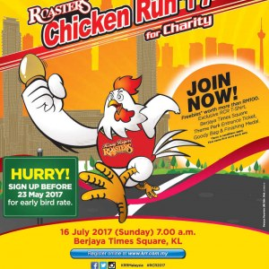 Roasters Chicken Run 2017