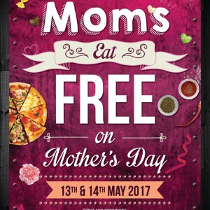 Moms Eat Free @ Capricciosa This Mother