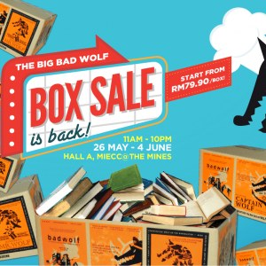 The Big Bad Wolf Box Sale 2017