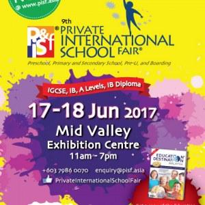 9th Private & International School Fair in Kuala Lumpur