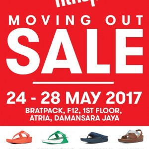 FitFlop Moving Out Sale @ Bratpack Atria Damansara